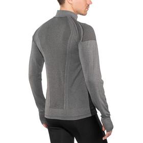 Craft M's Urban Run Fuseknit Jacket Black/Dk Grey Melange